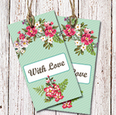 mint floral mockup- gif small - Copy
